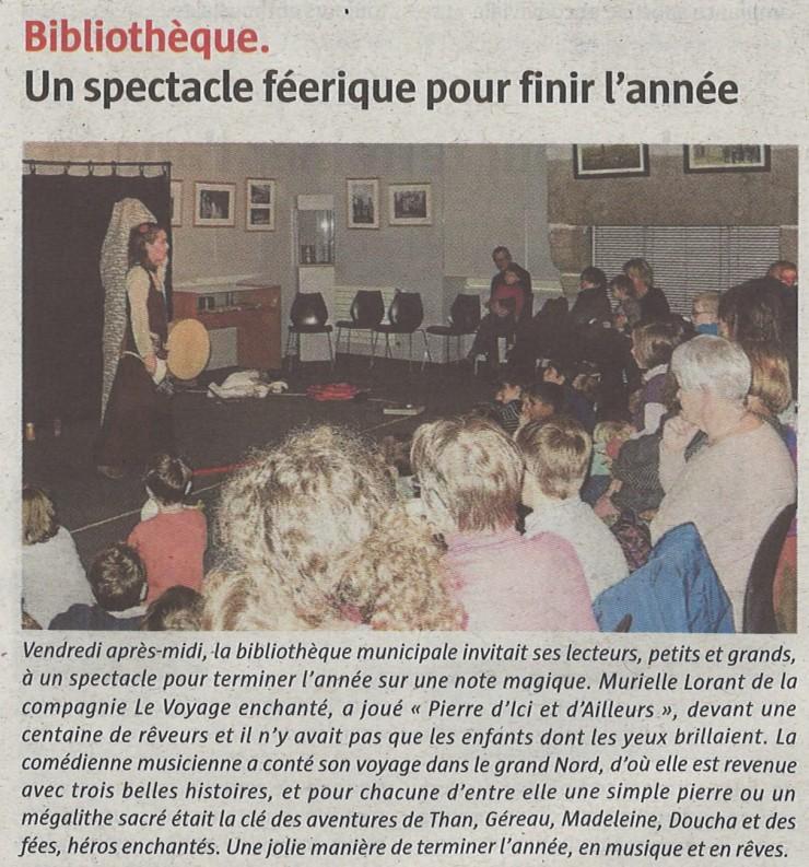 12LT- Spectacle Noël Murielle 31 décembre 2018